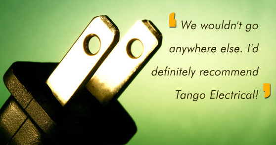 Photo of electrical parts and tools for Tango Electrical Contractors Sydney